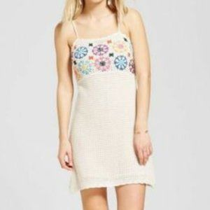 Mossimo Crochet Macrame Dress